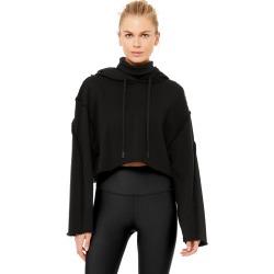 Alo Yoga Effortless Hoodie - Black - Size L - Performance Fabric