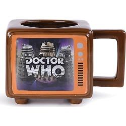 Official Doctor Who Retro TV - Heat Change Mug found on Bargain Bro UK from yellow bulldog