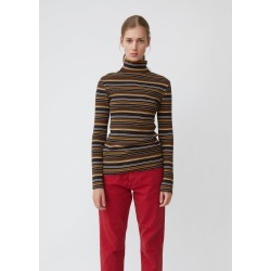 6397 Striped Turtleneck Navy Stripe Size: Small found on MODAPINS from la garconne for USD $245.00
