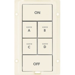 6-Button Change Kit for KeypadLinc, Light Almond