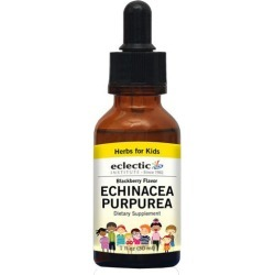 kid's Echinacea Purpurea Blackberry 1 Oz Alcohol free by Eclectic Institute Inc found on Bargain Bro India from Herbspro - Dynamic for $14.80