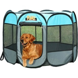 Dog Playpen Pet Foldable Panel Tent Cage Portable Puppy Crate 52 Inch