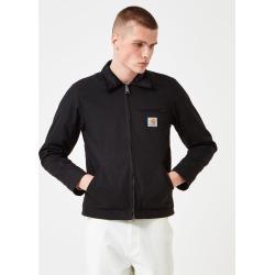 Carhartt-WIP Detroit Jacket (Organic Cotton, 12 oz) - Black rigid found on Bargain Bro UK from URBANEXCESS.COM