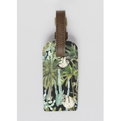 Leather Accent Tag - Dark Wild Jungle 45 by Always Seek Original Artist found on Bargain Bro India from SHOPVIDA for $30.00