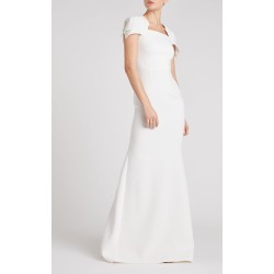 Clovelly Gown - 6 / White found on Bargain Bro UK from Roland Mouret