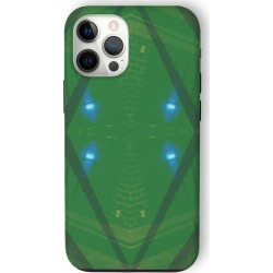 iPhone Case - Shadowland in Green by VIDA Original Artist found on Bargain Bro Philippines from SHOPVIDA for $40.00