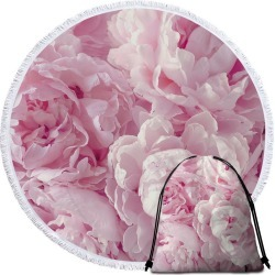 Pinkish Petals Beach Towel found on Bargain Bro India from Simply Wholesale for $14.16
