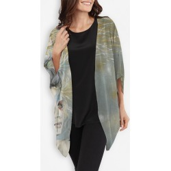 Cocoon Wrap - Shimmer by VIDA Original Artist found on Bargain Bro India from SHOPVIDA for $125.00