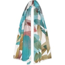 100% Cashmere Scarf - Leaves Spring by Always Seek Original Artist found on Bargain Bro India from SHOPVIDA for $145.00