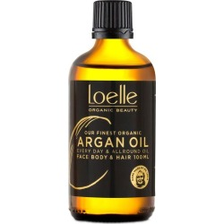 Loelle Cold-Pressed and Organic Argan Oil 100ml - 100ml found on Makeup Collection from Oxygen Boutique for GBP 23.99