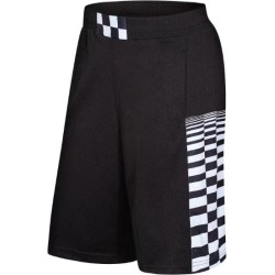 Costbuys  Grid Print Basketball Shorts Men Running Training Game Fitness Gym Breathable Quick Dry Loose Tennis Boxing Sport Shor