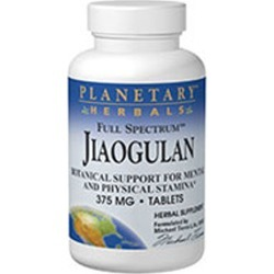 Full Spectrum Jiaogulan 60 Tabs by Planetary Herbals found on Bargain Bro India from Herbspro - Dynamic for $30.98