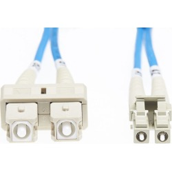 Lc Sc Om1 Multimode Fibre Optic Cable Blue found on Bargain Bro Philippines from Simply Wholesale for $29.43