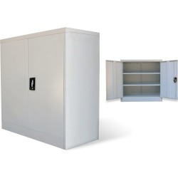 2-Door Metal Office Cabinet found on Bargain Bro Philippines from Simply Wholesale for $171.81