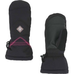 Spyder Girl's Inspire Ski Mitten Size Small in Black