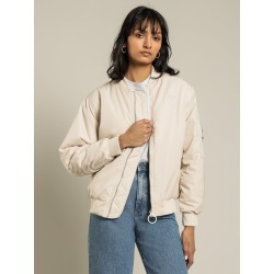 Stussy - Stock Bomber Jacket in White Sand found on MODAPINS from glue store for USD $123.29