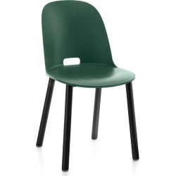 Alfi Aluminum Chair- High Back - Green / Black Powder Coated