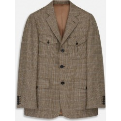 Bryon Wool Check Travel Jacket - 48 found on Bargain Bro UK from Turnbull & Asser
