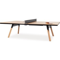 You And Me Ping Pong Table - Standard - Oak / Black