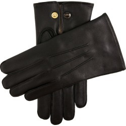 Dents Men's Wool Lined Leather Officers Gloves In Black Size 9 found on Bargain Bro UK from Dents