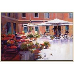 The Good Life Framed Canvas Print