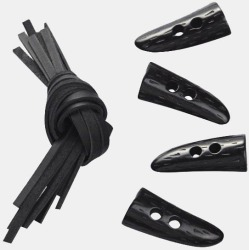 Black Plastic Children's Toggles found on Bargain Bro UK from Gloverall