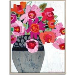 Fifi's Pot Framed Canvas Print