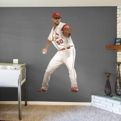 """Adam Wainwright for St. Louis Cardinals - Officially Licensed MLB Removable Wall Decal Giant Athlete + 2 Decals (26""""W x 51""""H) by"""