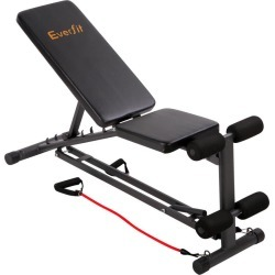 Adjustable FID Weight Bench Flat Incline Fitness Gym Equipment