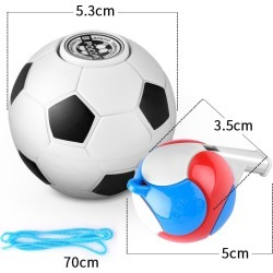 Costbuys  Creative Magic Football Soccer Basketball Fidget Cube Stress Relief Novelty Anti Stress Desktop Office Toys Stress Rel