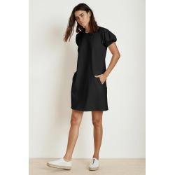 Mollie Structured Cotton Puff Sleeve Dress (XS), Velvet by Graham & Spencer