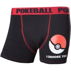 Official Pokémon 'I Choose You' Poké Ball Boxer Shorts - XL found on Bargain Bro UK from yellow bulldog