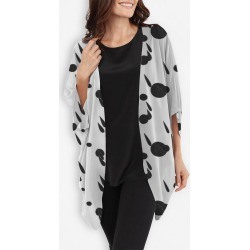 Cocoon Wrap - Abstract Weather in White by VIDA Original Artist found on Bargain Bro Philippines from SHOPVIDA for $125.00