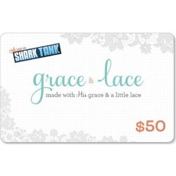 $50 Gift Card found on Bargain Bro India from Grace and Lace for $50.00
