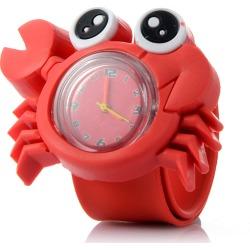 Costbuys  Children'S Watch 16 Animals Cute Children'S Watch Baby Child Quartz Watch Girl Boy - crab