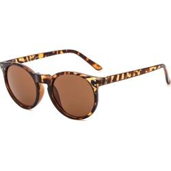 Costbuys  Round Sunglasses Retro Women Ladies Vintage Sunglasses Male Fashion for Travel Brand Designer JH9003 - Tortoise