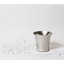 Rose Party Set - Glass - Snowe Home