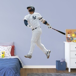 """Gleyber Torres for New York Yankees - Officially Licensed MLB Removable Wall Decal Life-Size Athlete + 2 Decals (62""""W x 77""""H) by"""