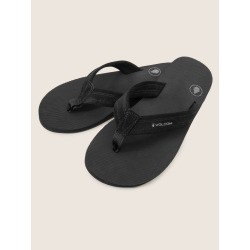 Volcom Driftin Leather Sandals - Black - 7 found on Bargain Bro India from volcom.com for $30.00