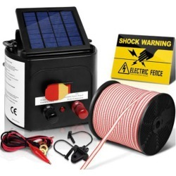 5km Solar Electric Fence Charger with 400M Tape and 25pcs Insulators found on Bargain Bro India from Simply Wholesale for $223.74