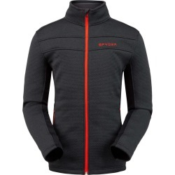 Spyder Men's Encore Fleece Jacket Size Small in Black