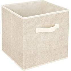 Storage Box Cube - Beige | Storage