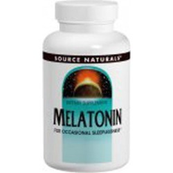 Melatonin Sublingual Peppermint 300 Tabs by Source Naturals found on Bargain Bro from Herbspro for USD $18.81