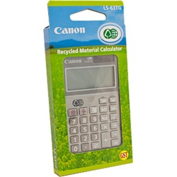 Canon LS63TG Calculator