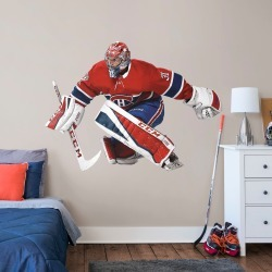 """Carey Price for Montreal Canadiens - Officially Licensed NHL Removable Wall Decal Life-Size Athlete + 2 Decals (78""""W x 36""""H) by"""