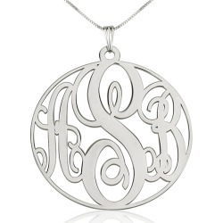 Circle Monogram Necklace found on Bargain Bro Philippines from Simply Wholesale for $354.79