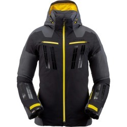 Spyder Men's Monterosa GTX Jacket Size Small in Black Ebony