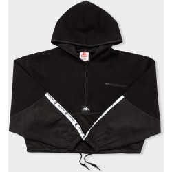 Kappa - Authentic JPN Camaline Hooded Pullover in Black found on MODAPINS from glue store for USD $87.46
