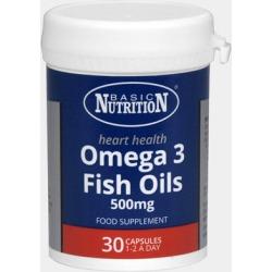 Basic Nutrition Omega 3 Fish Oils 30s