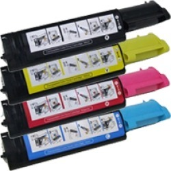 Compatible Dell 3100 Laser Toner Cartridge Set Black Cyan Yellow Magenta found on Bargain Bro India from Quest 4 Toner for $88.62